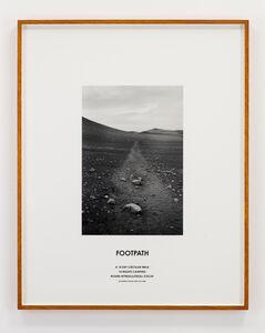 Hamish Fulton, 'Footpath, Iceland, 2008', 2008