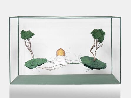 Houda Terjuman, 'Floating Bed seeking test', 2019
