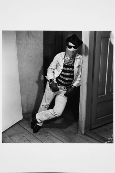 Karlheinz Weinberger, 'Boy with mask in KHW's home', 1962
