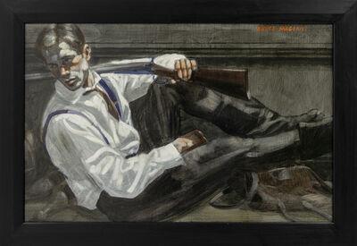 Mark Beard, '[Bruce Sargeant (1898-1938)] Reclining Man in a Tie', n.d.
