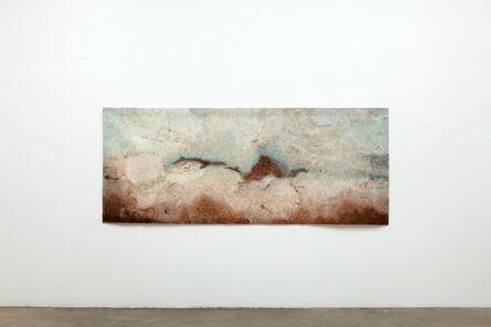 Gary Goldberg, 'Finding the Universe in Oaxaca, brown ground blue sky', 2017