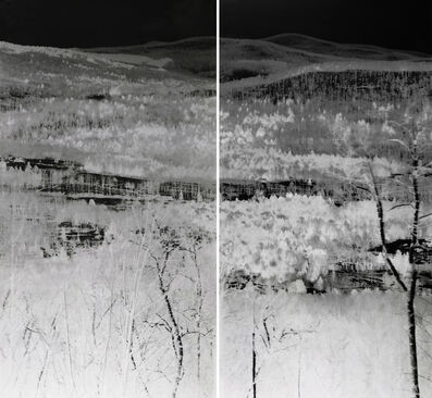 Shi Guorui 史国瑞, 'View of Catskill Mountains, New York, Mar 18-19 2019', 2019