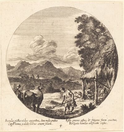 Georg Andreas Wolfgang, the Elder, 'The Bronze Age', 1665