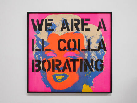 Claire Fontaine, 'We are all (IV)', 2012