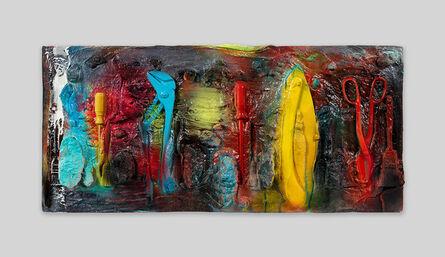 Jim Dine, 'Twelve Colorful Tools (For Gene Summers)', 2017