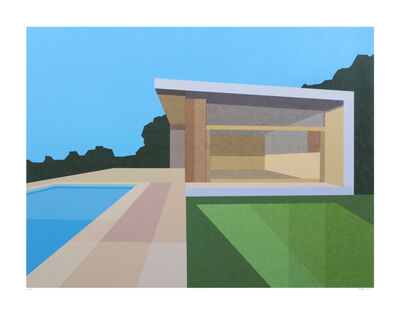 Andy Burgess, 'Pool House', 2015