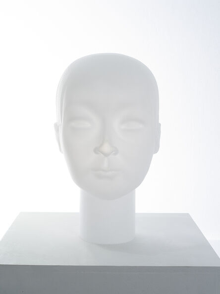 Prune Nourry, 'Imbalanced Head #8 Jianwei (Glass)', 2020