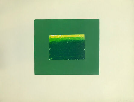 Howard Hodgkin, 'Indian Views – Plate K', 1971