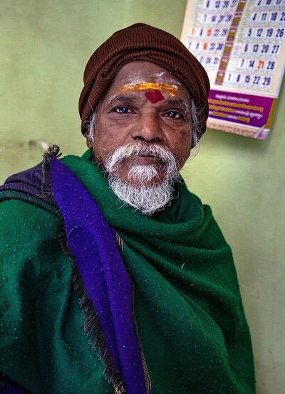 Neil O. Lawner, 'Portrait #10 India', 2020