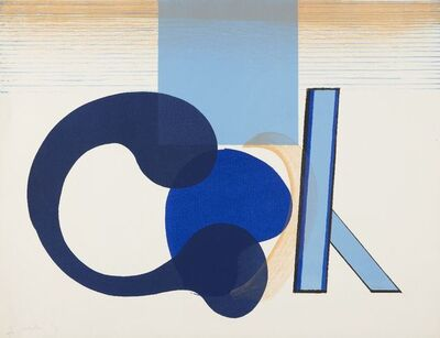 Howard Hodgkin, 'Interior with Figure', 1966