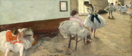 Edgar Degas, 'The Dance Lesson', ca. 1879