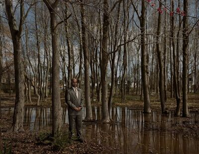Taryn Simon, 'Troy Webb Scene of the crime, The Pines, Virginia Beach, Virginia', 2002