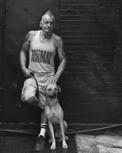 Robert Kalman, 'Phil with Hank', 2016