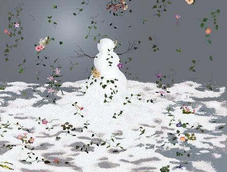 David Robbins, 'Flowerstorm', 2006