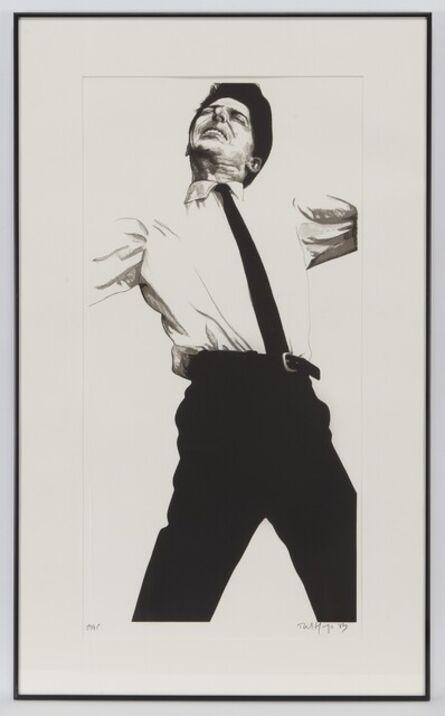 Robert Longo, 'Jules from Men in the Cities', 1983