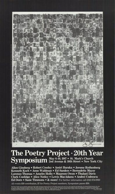 Jasper Johns, 'Alphabets', 1987