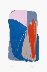 Larry Zox, 'Untitled - Gray Sweep', ca. 1980