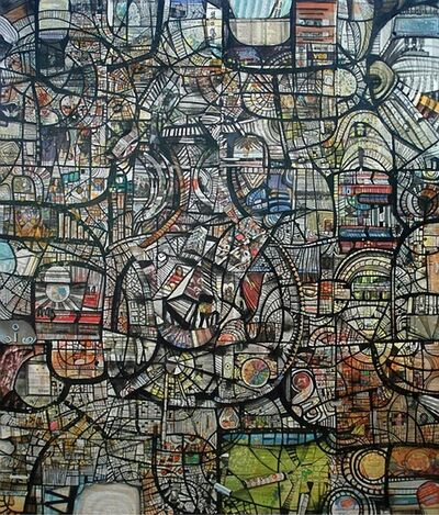 Kazi Salahuddin Ahmed, 'Sheer Chaos 26', 2012