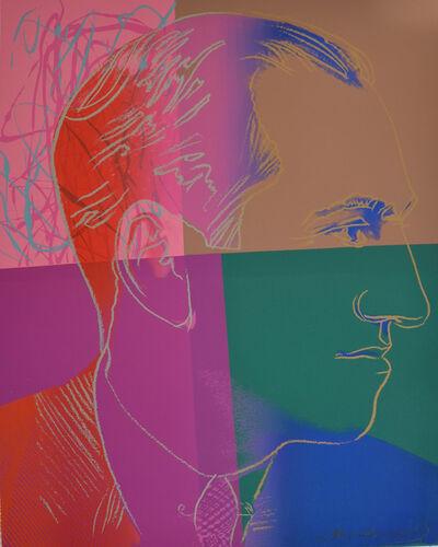 Andy Warhol, 'George Gershwin (FS II.231) Trial Proof', 1980