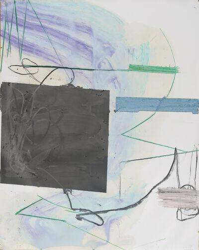 Nuno Ramos, 'Untitled, Rocha de Gritos series', 2017