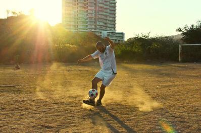 Daniel Bejar, 'Operation Guest (Football #1)', 2012