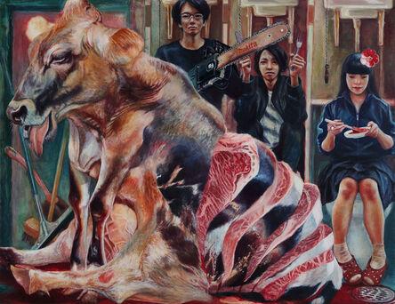 Kumazawa Mikiko, 'Delicious Beef', 2017