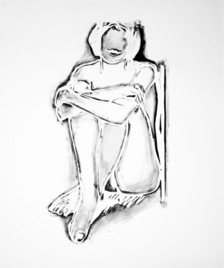 Tom Wesselmann, 'MONICA SITTING BY WALL', 1990
