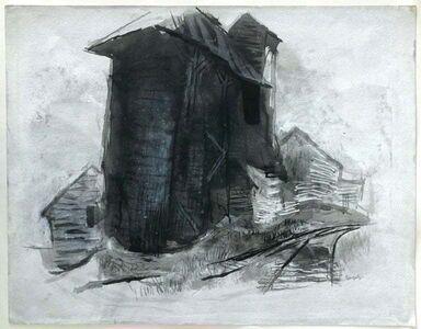 Tibor Gergely, 'Farm house', 1970