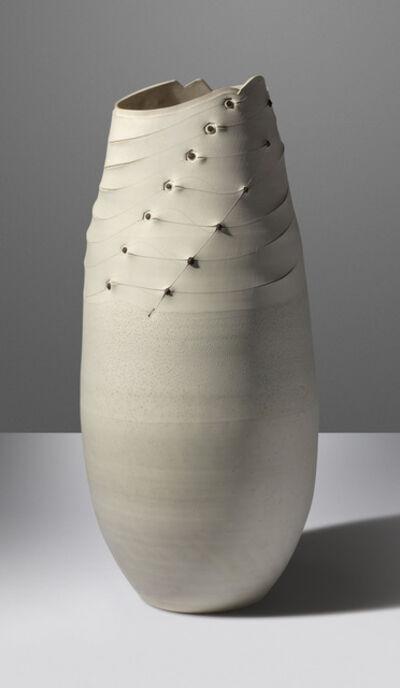 Andile Dyalvane, ''Rythms', a unique monumental vase', 2014