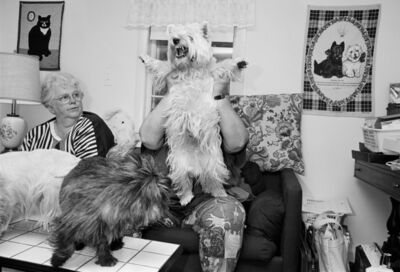 Sage Sohier, 'Woman with Westies, New London, New Hampshire', 1992