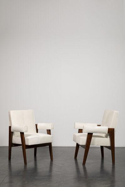 "Pierre Jeanneret, '""High Court"" armchair', ca. 1955-1956"