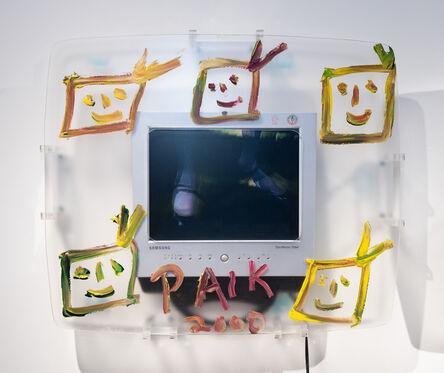 Nam June Paik, 'TIGER LIVES', 2000