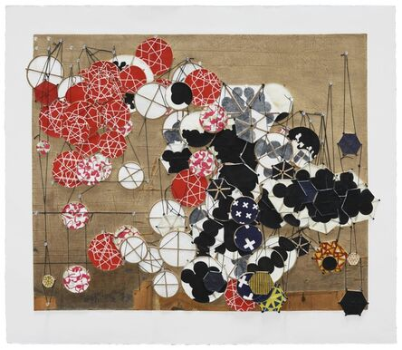 Jacob Hashimoto, 'Another Cautionary Tale Comes to Mind (but immediately vanishes) ', 2016