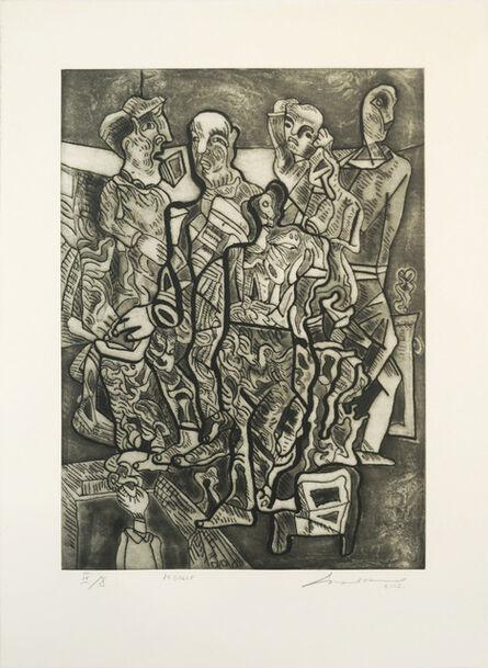 Jose Luis Cuevas, 'La calle', 2002