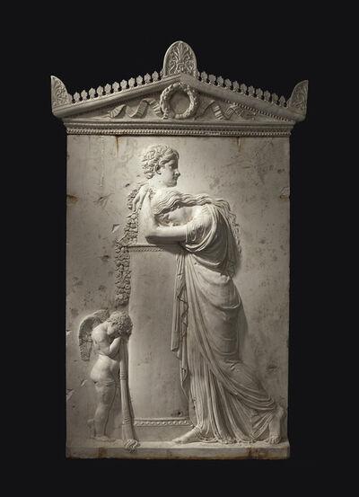 Rinaldo Rinaldi, 'A gesso monument to Pietro Stecchini (1822-1839)'