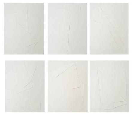 Daniela Libertad, 'Línea y sombra (1-6)', 2014
