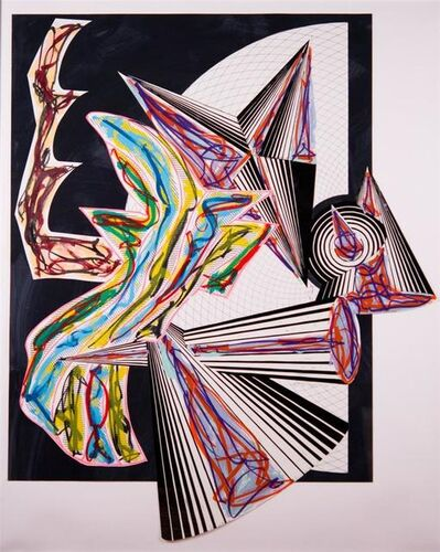 Frank Stella, 'Then Came Death and Took the Butcher', 1982-1984