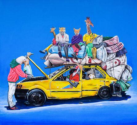 Abdias Ngateu, 'Taxi-Brousse I', 2020