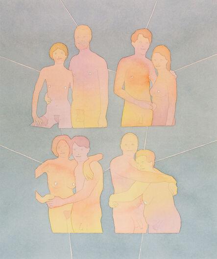 Dan Gluibizzi, 'Four Couples', 2012