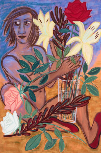 Eileen Cooper, 'Lily Rose', 2016