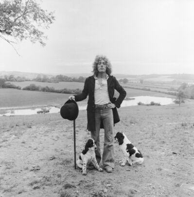 Terry O'Neill, 'Roger Daltrey at home in England', 1978