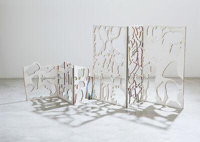 Teppei Kaneuji, 'Ghost Building (Six panel screen) #2', 2014