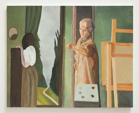Bruno Knutman, ' Målaren och hans modell / The Painter and his Model', 2015