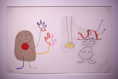 Joan Miró, 'Childhood of Ubu', 1975