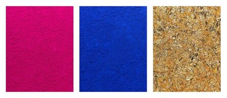 Vik Muniz, 'Monochrome, Pink-Blue-Gold, after Yves Klein (Pictures of Pigment)', 2016
