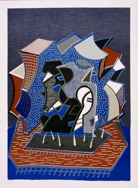 David Hockney, 'Tres (End of Triple)', 1991