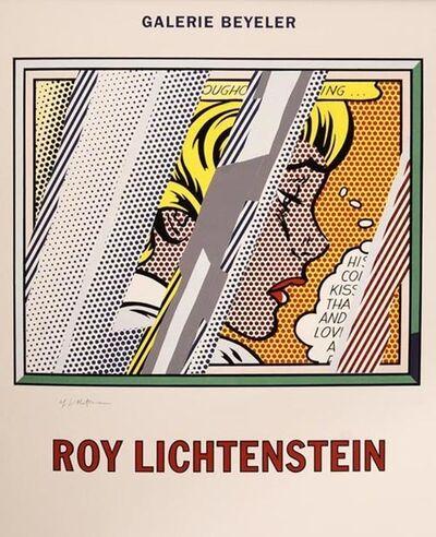 Roy Lichtenstein, 'Reflection on a Girl', 1990