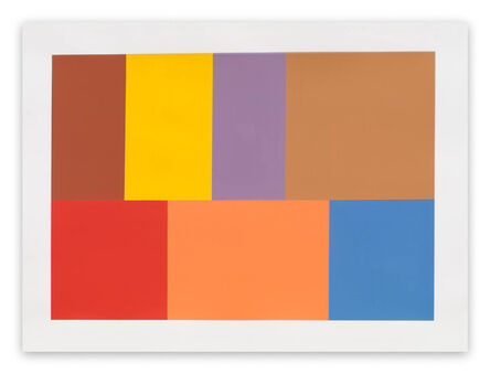 Tom McGlynn, 'Test Pattern 7 (Siena) (Abstract painting)', 2005