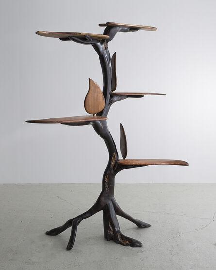 "Babacar Niang, 'A Carved Sculptural ""Etawen"" Shelf', 2014"