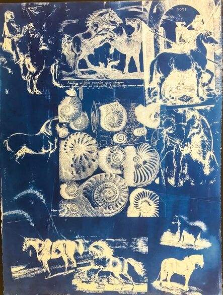 Peggy Cyphers, 'Equestrian II', 2015